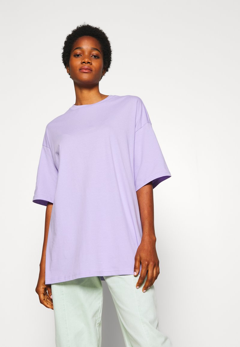 Monki - CISSI TEE - T-shirt con stampa - lilac purple