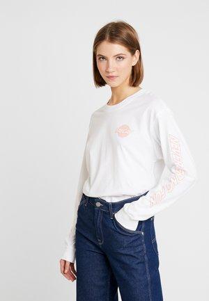 KLARA - Bluzka z długim rękawem - white