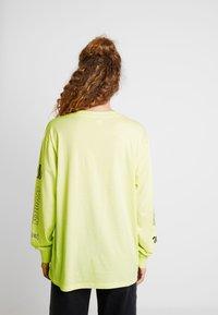 Monki - KLARA - Maglietta a manica lunga - yellow light - 2
