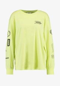 Monki - KLARA - Maglietta a manica lunga - yellow light - 3