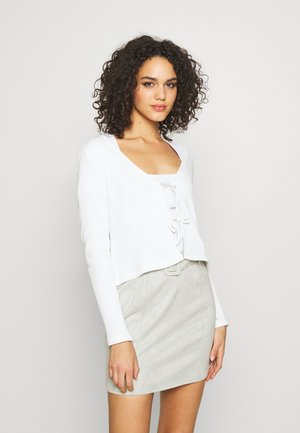 MATHILDA CARDIGAN - Vest - white