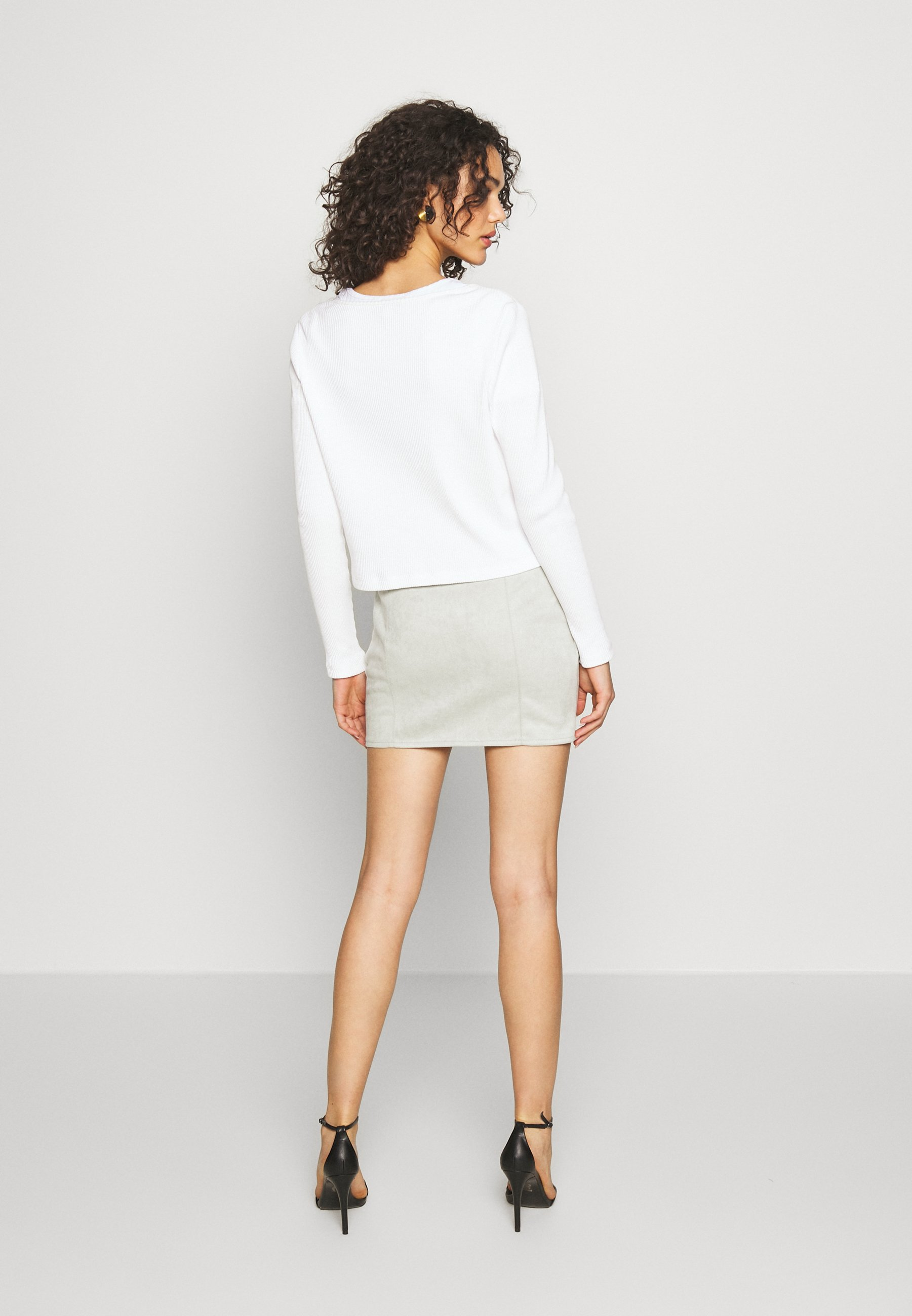 Monki MATHILDA CARDIGAN - Kardigan - white