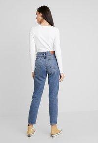Monki - PARADISIO - T-shirt à manches longues - white - 2