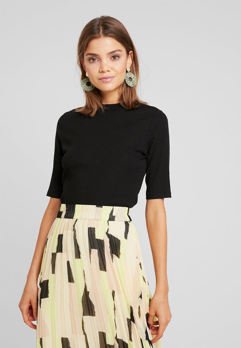 Monki - SABRINA - T-Shirt print - black dark solid