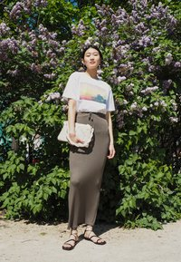 Monki - TOVI TEE - T-shirts med print - white - 0