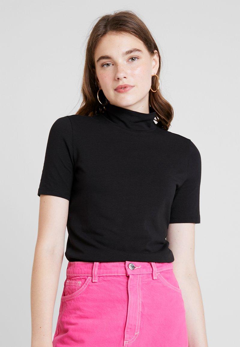 Monki - WILLA TEE - Camiseta estampada - black