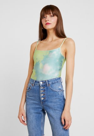 DAHLIA BODY - Top - tie dye light green