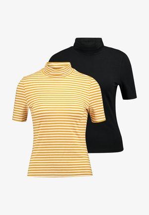 THEM WILLA TEE 2 PACK - T-shirt imprimé - easypeasy/black