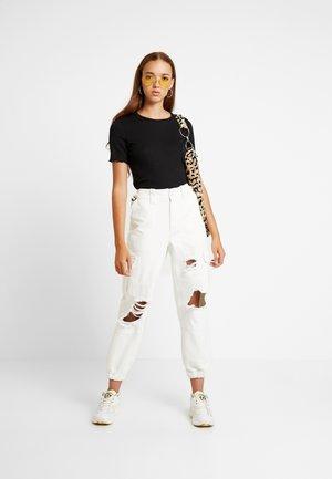 PETRONELLA TEE 2 PACK - T-shirt basique - white/black