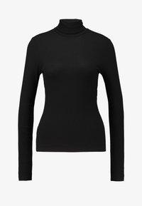 Monki - ELIN - T-shirt à manches longues - black dark - 3