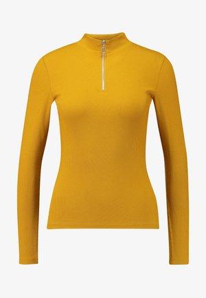 KIM ZIP - Longsleeve - yellow dark