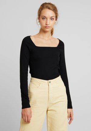 MALOU CATCH - Långärmad tröja - black dark solid