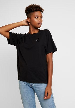 TOVI TEE - Print T-shirt - black
