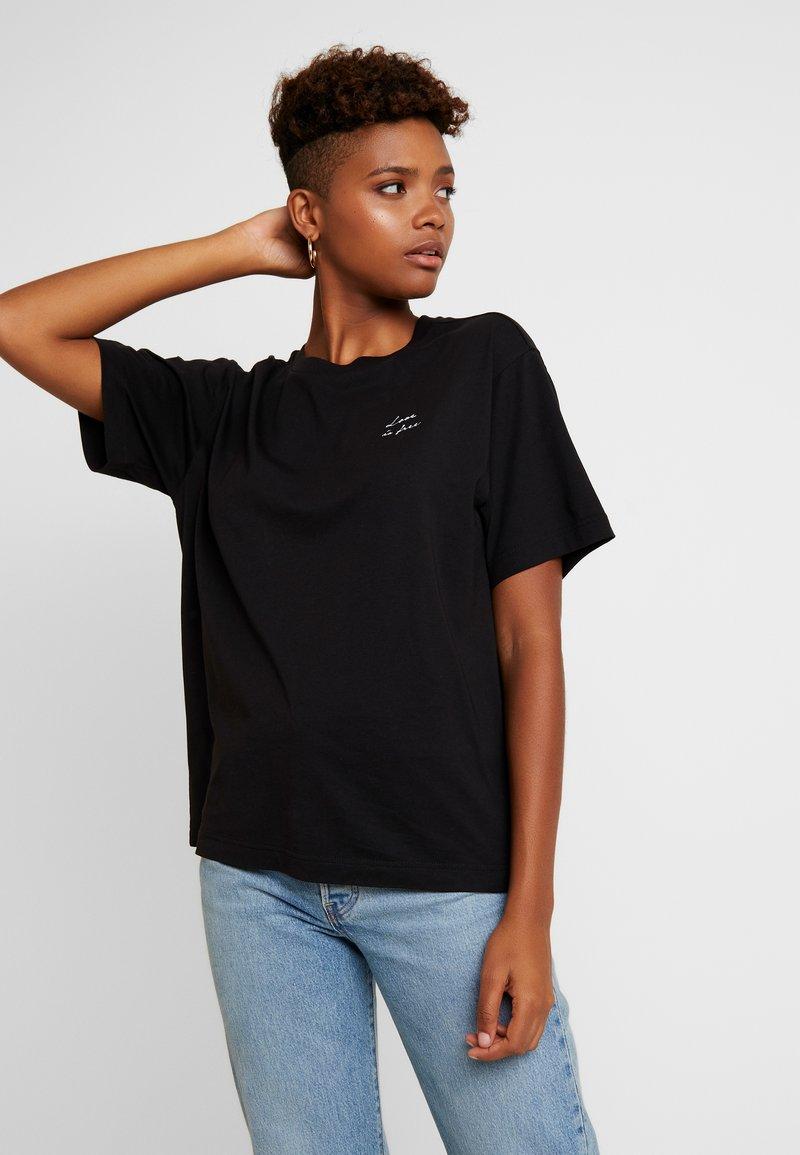 Monki - TOVI TEE - T-shirts print - black