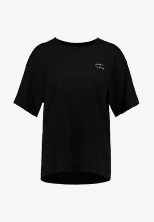 TOVI TEE - T-shirts med print - black