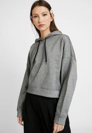CADDY HOOD - Hoodie - black/silver