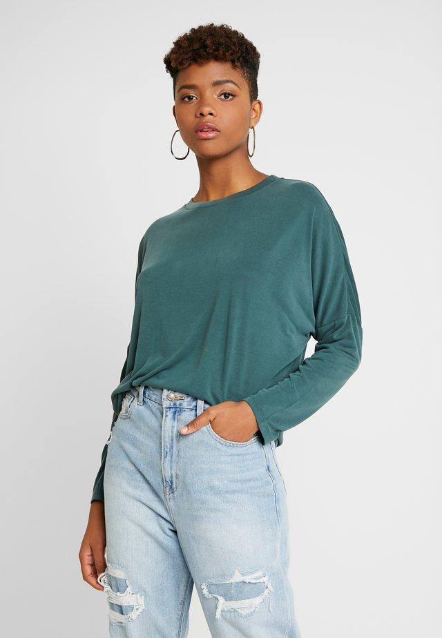 CLAUDIA - T-shirt à manches longues - green dark