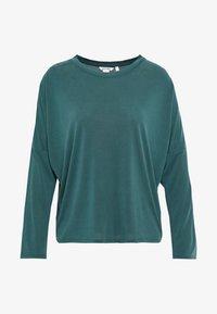 Monki - CLAUDIA - Maglietta a manica lunga - green dark - 3