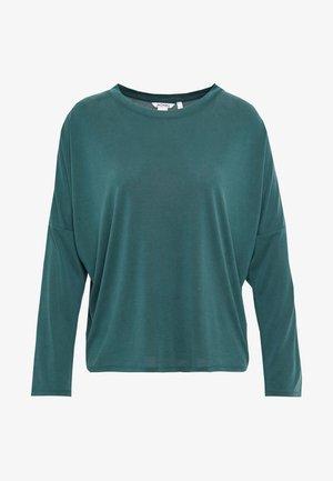 CLAUDIA - Maglietta a manica lunga - green dark