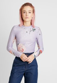 Monki - ELIN - Longsleeve - purple - 0