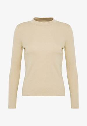 SAMINA - Long sleeved top - beige
