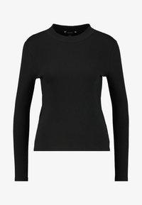 Monki - SAMINA - Long sleeved top - black dark - 4