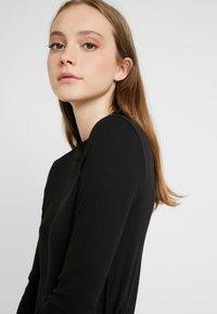 Monki - SAMINA - Long sleeved top - black dark - 3
