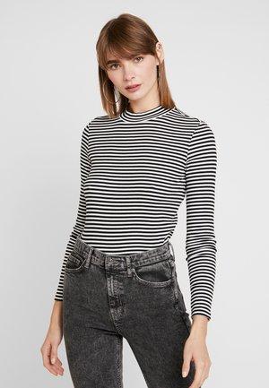 SAMINA - Long sleeved top - black