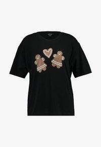 Monki - TOVI SPECIAL TEE - T-shirts print - black - 3