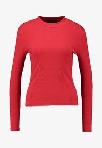 Monki - SAMINA - T-shirt à manches longues - red - 3