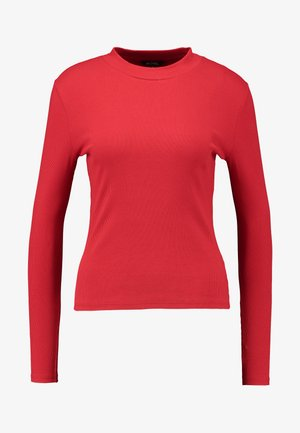 SAMINA - Long sleeved top - red