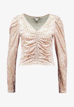 MAJLI - Long sleeved top - beige