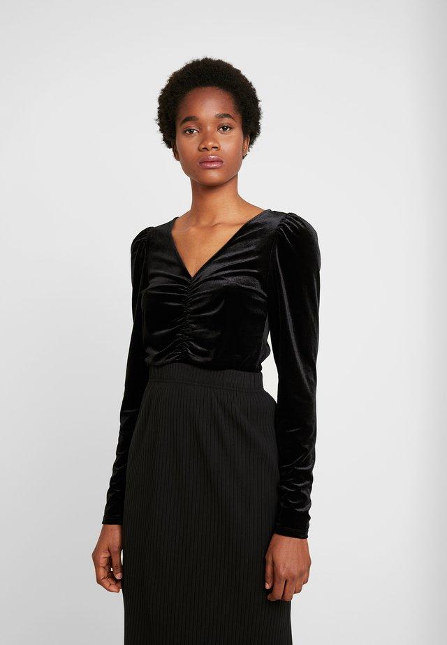 MAJLI - Bluzka z długim rękawem - black