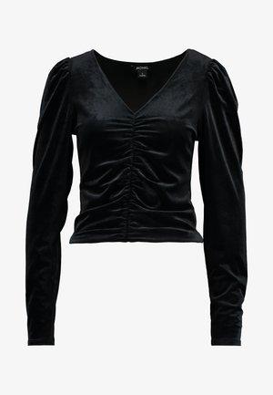 MAJLI - Topper langermet - black