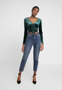 Monki - OLLE - Longsleeve - dark green - 1