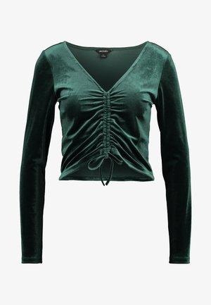 OLLE - Långärmad tröja - dark green