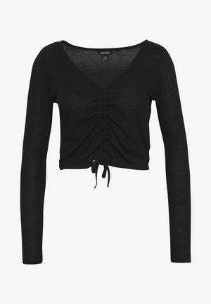 OLLE - Maglietta a manica lunga - black