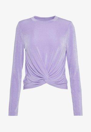 NATALIE - Top sdlouhým rukávem - lilac