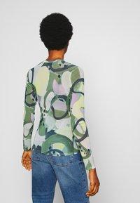Monki - JOCY - T-shirt à manches longues - beige/medium dusty/khaki - 2