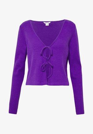 MATHILDA - Cardigan - lilac
