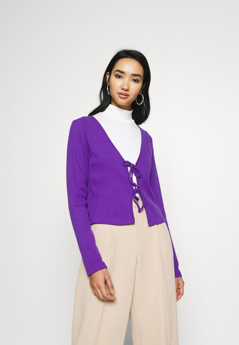 Monki - MATHILDA - Cardigan - lilac