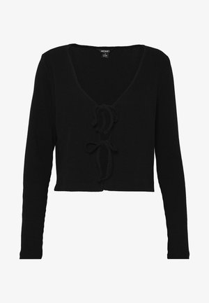 MATHILDA - Vest - black dark
