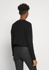 Monki - MATHILDA - Neuletakki - black dark - 2