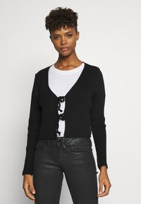 Monki - MATHILDA - Cardigan - black dark - 0