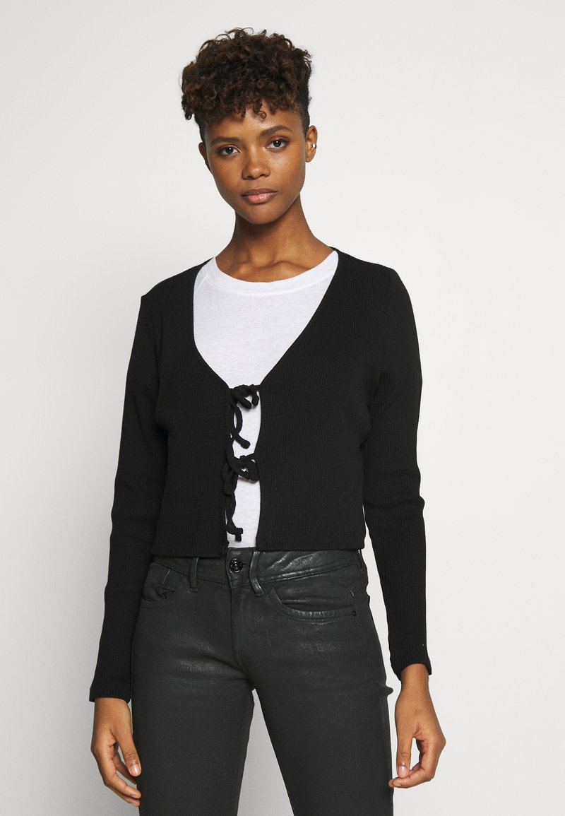 Monki - MATHILDA - Cardigan - black dark