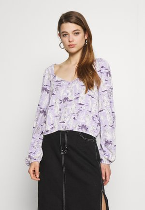 ULRIKA BLOUSE - Long sleeved top - lilac classical
