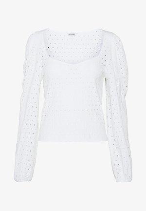 VIBEKE - Langarmshirt - white