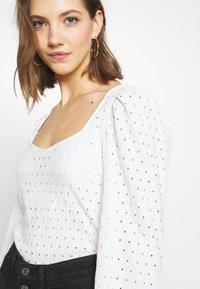Monki - VIBEKE - Long sleeved top - white - 4