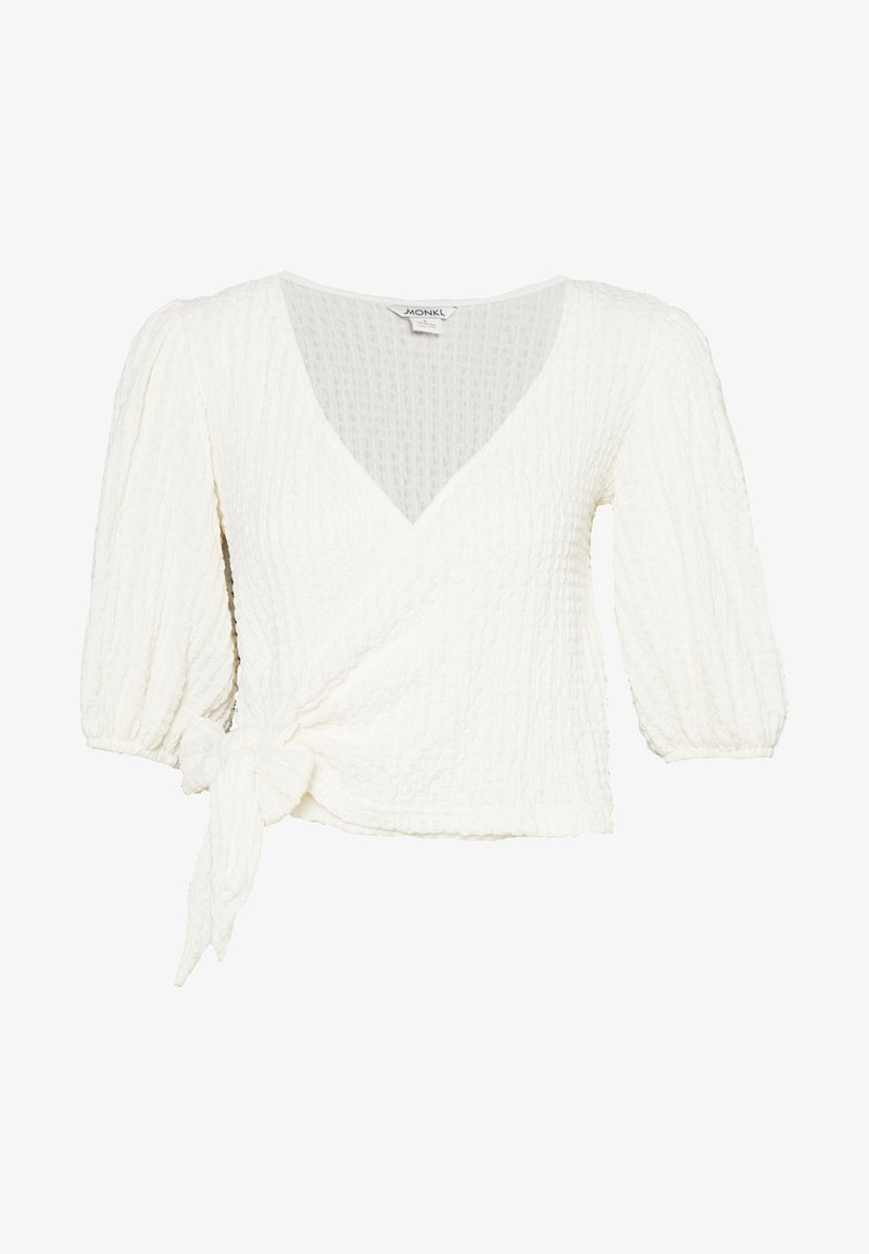 Monki - TEODORA - T-shirt con stampa - white light