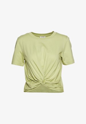 WILMA TOP 2 PACK - T-shirt - bas - green/white